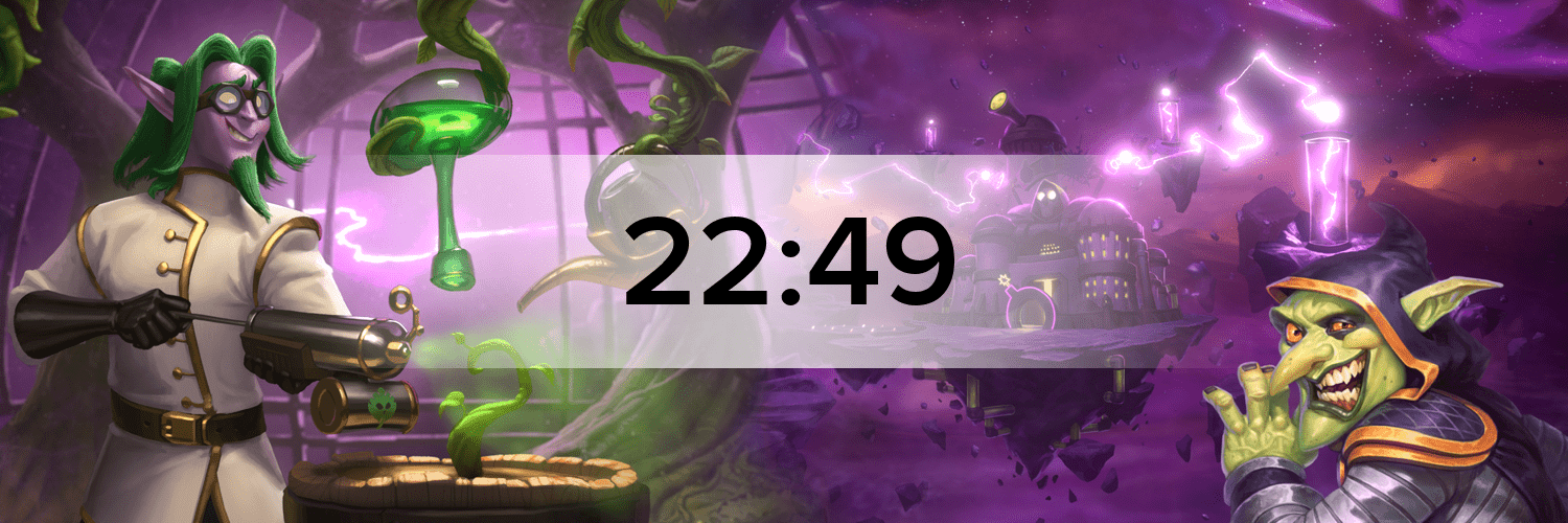 Hearthstone - The Boomsday Project Hostbanner