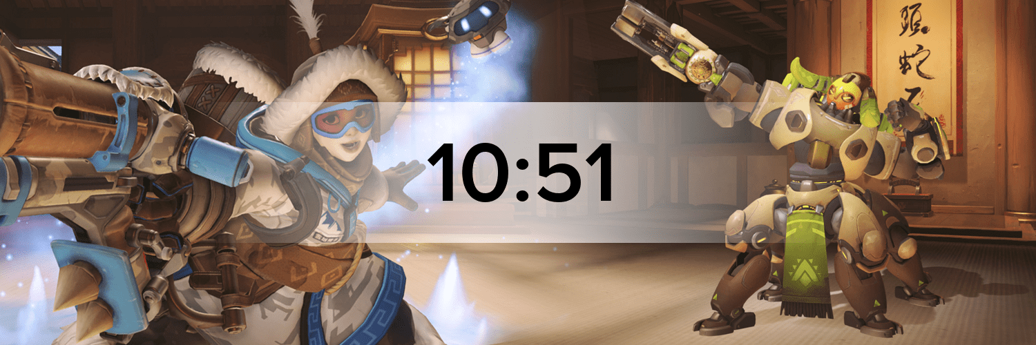 Overwatch - Variante 3 Hostbanner