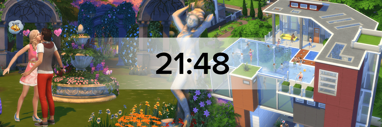 Die Sims 4 Hostbanner