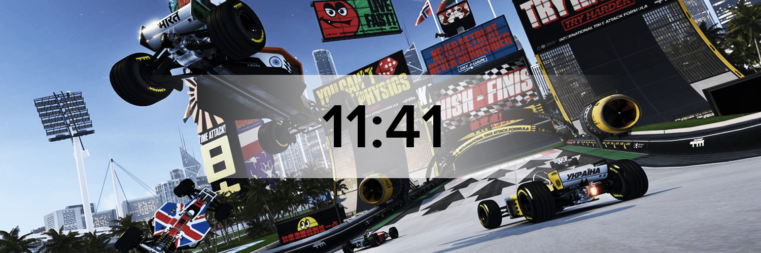 TrackMania Nations Hostbanner