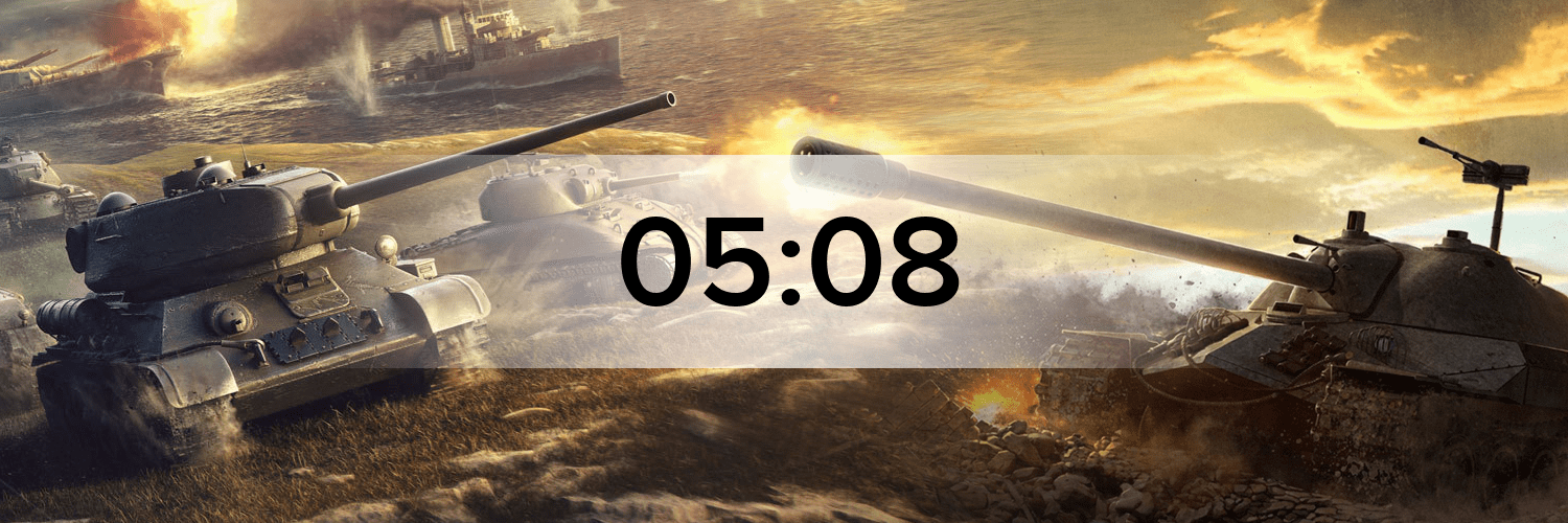 World of Tanks - Variante 1 Hostbanner